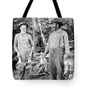 Silent Still: Old People Tote Bag