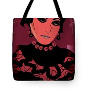 Silk Chiffon Tote Bag by Natalie Holland