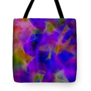 Silk In The Garden Tote Bag by Judi Bagwell