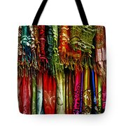Silk Dresses In Vietnam Tote Bag