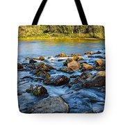 Silk Water Tote Bag