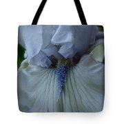 Silky Iris Tote Bag