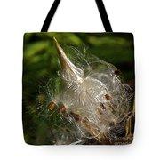 Silky Milkweed Tote Bag