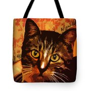 Silly Cat Tote Bag