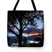 Silohuette Of The Southwest Tote Bag