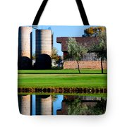 Silos On The Green Tote Bag