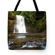 Silver Falls Waterfall Tote Bag
