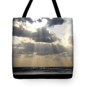 Silver Rays Tote Bag