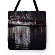 Silver Reflections Tote Bag