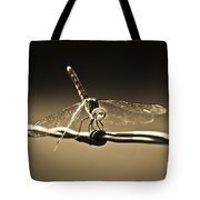 Silver Wings Tote Bag