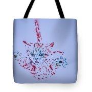 Simple Cat Color Tote Bag