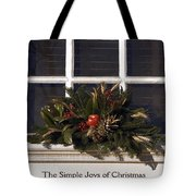 Simple Joys Tote Bag