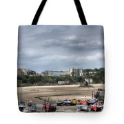 Simply North Beach From Tenby Harbour Tote Bag