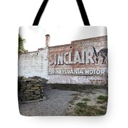 Sinclair Motor Oil Tote Bag
