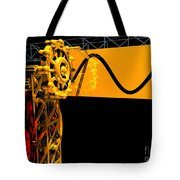 Sine Wave Machine Landscape 2 Tote Bag