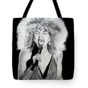 Singer And Actress Tina Turner  Tote Bag
