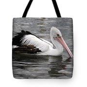 Single Australian Pelican Tote Bag