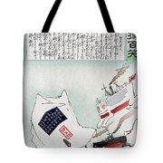 Sino-japanese War, 1895 Tote Bag