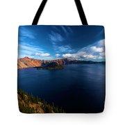 Sinott Crater Lake View Tote Bag