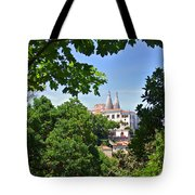 Sintra National Palace Tote Bag by Carlos Caetano