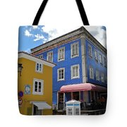 Sintra Portugal Buildings Tote Bag