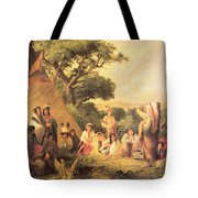 Sioux Indian Council Tote Bag