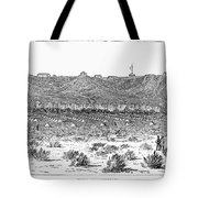 Sioux War: Fort Fetterman Tote Bag