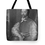Sir Francis Drake, English Explorer Tote Bag by Photo Researchers