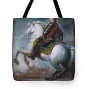 Sir Jeffrey Amherst Tote Bag by Sir Joshua Reynolds