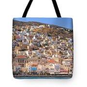 Siros Greece 2  Tote Bag
