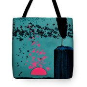 Sitting On The Dock By The Bay Tote Bag