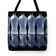Six Glass Bottles Tote Bag by David Chapman