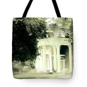 Sixty One Ghosts Live Here Tote Bag
