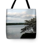 Skaneateles Lake In Ny Finger Lakes Water Color Effect Tote Bag