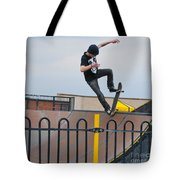 Skateboarding Ix Tote Bag