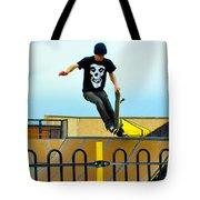 Skateboarding Xi Tote Bag