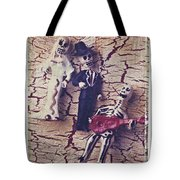Skeleton Bride And Groom Tote Bag