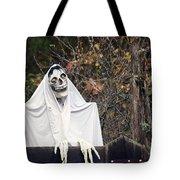 Skeleton Ghost Tote Bag