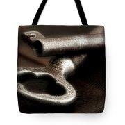 Skeleton Keys Still Life Tote Bag by Tom Mc Nemar