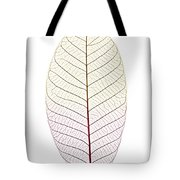 Skeleton Leaf Tote Bag by Elena Elisseeva