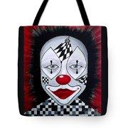 Skeptical...clown Tote Bag