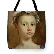 Sketch Of A Young Girl Tote Bag