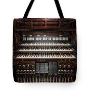 Skinner Pipe Organ Tote Bag