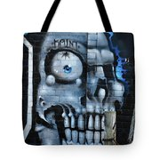 Skull And Spider Tote Bag