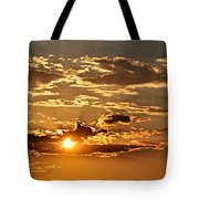 Sky Ablaze 1 Tote Bag by Marty Koch