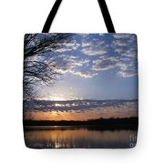 Sky At Dusk Tote Bag