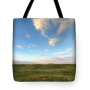 Sky At Sunset, Grasslands National Tote Bag