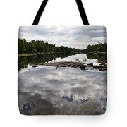 Sky In The Water Tote Bag