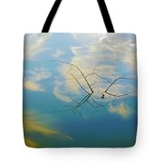 Sky On Water Tote Bag by Brian Wallace