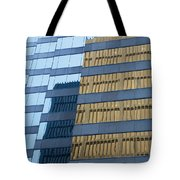 Sky Scraper Tall Building Abstract With Windows And Reflections No.0102 Tote Bag